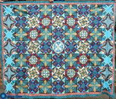 My Quilt Top: Finished by Theos-Kengen