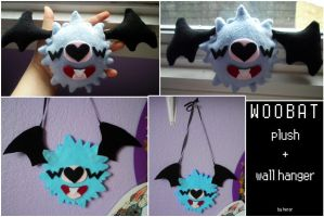 Woobat Crafts by SmileAndLead