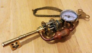 Steampunk Key by Illy251