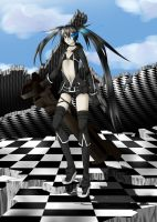Black Rock Shooter by valiryn