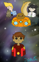 The Bravest Warriors by Ask-BowPrincess