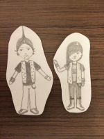 Paper Couples - 14 - Punks by debstaymetal