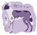 African Wild Dog Adopt [AUTO'D - CLOSED] by Unlikely-Adopts