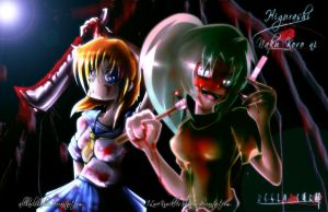 Collaboration - Higurashi - The Insane by Tri-Jean