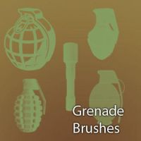 Grenade Brushes by remygraphics