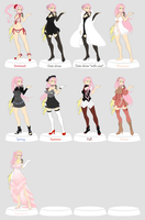 ::Pokecino:: Wardrobe of clothes by B3rryBliss