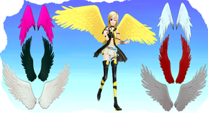 MMD Wings 2 by MMD3DCGParts