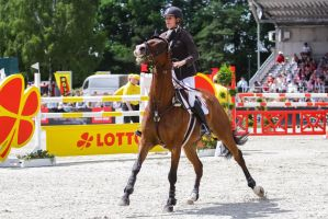 3DE Show Jumping Phase Stock 19 by LuDa-Stock