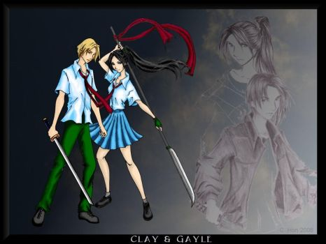 Clay and Gayle V1 by cynical-idealist