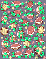SO many turtles pattern by SarahRichford