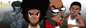 Boondocks Collage by The-B-Meister