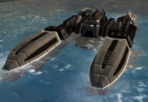 Soviet nuclear missile sub MKI by LOLMANIC45