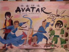 Avatar the Last Airbender by blackpearlz824