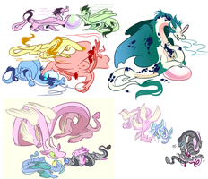 look at all of these worms by Kinn-Katze