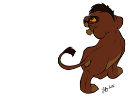 Kovu stalk by Juffs