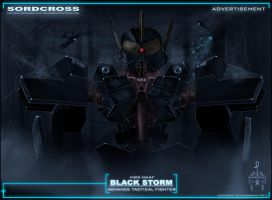 Black Storm concept art by CORNBREAK