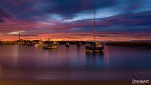Shifting Boats at Sunrise by CasualImages