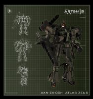 AXN-ZX-00h ATLAS ZEUS by UEGProductions