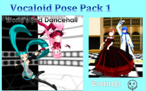 MMD Vocaloid Pose Pack 1 by Syd3rMMD