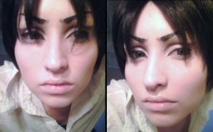 Eren Jaeger Makeup Revisited by Antiquity-Dreams