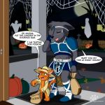 Calex Halloween Commission by Coshi-Dragonite