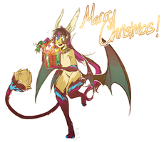 merry xmas seiokou by alpacasovereign