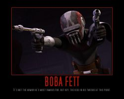 Star Wars The Clone Wars Boba Fett by Onikage108