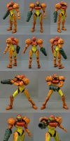 """7"""" Samus Action Figure by red3183"""