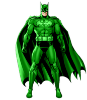 Green Lantern Batman Suit by KalEl7