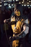 Scorpion Cosplay mortal kombat X by melonicor