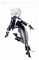 NYCC 2008 Black Canary by MahmudAsrar