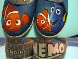 Nemo shoes #2 by iheartart06