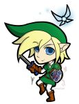 Link and Navi by Garucius