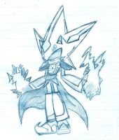 Neo Metal Sonic -New Style- by Metalks