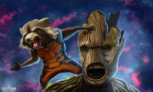 Guardians of the Galaxy by TimStarker