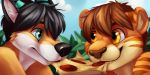 Pizza Couple Icons by Zeta-Haru