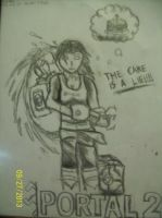 Chell by TheLeadBasedDesign