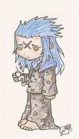 Saix...in the morning by NarcolepticPenguin