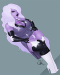 Amethyst in Rubber by LexiKimble