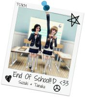 End of school! by TheSims3KawaiiMaker