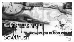 Saw Brushes Psp7 by xxdhanixx