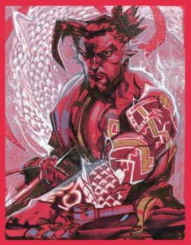 Hanzo RED by ChrisVisions