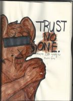 TRUST NO ONE by retro-intoxication