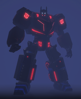 Optimus Prime in Fog by BlackOpsSpartan