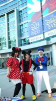 Humanized Cosplays at D23-DisneyFan Expo 2013 by trivto