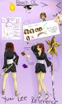 -:Yumi Lee:- Reference Sheet by AhiruHoney
