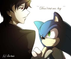 T. Riddle - Sonic - Take up my Challenge by Jin-Tonix