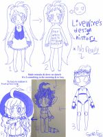 LiveWire/Jazz/Chell's design over the 2014 by CreepypastaGoth