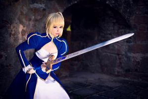 Fate/Stay Night - Saber II by Calssara