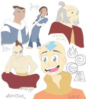 Avatar: Colage by maridawood